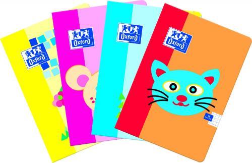 Hamelin Zeszyt Oxford Kids A5 linia podwójna kolorowa 16 kartek