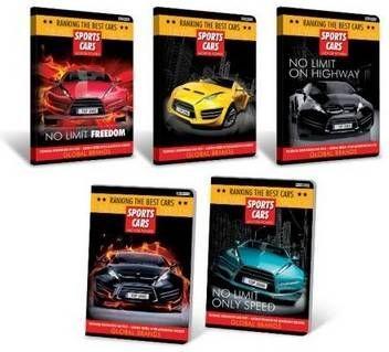 Hamelin Zeszyty Top 2000 Sports Cars A5, 16k