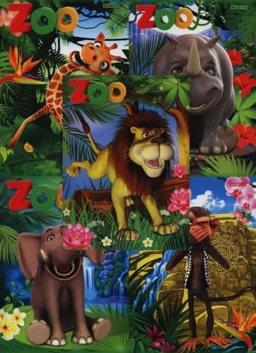 Hamelin Zeszyt A5/16K gładki Zoo (400044384)