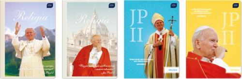Interdruk Zeszyt A5/32k Religia Jan Paweł II