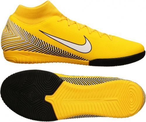Nike Buty piłkarskie Mercurial SuperflyX 6 Academy Neymar IC żółte r. 43 (AO9468 710)