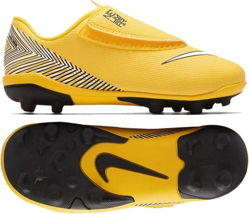 huge discount 58846 50c34 Nike Buty piłkarskie JR Mercurial Vapor 12 (V) PS Neymar FGMG żółte