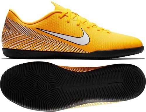 Nike Buty piłkarskie Mercurial VaporX 12 Club Neymar IC żółte r. 43 (AO3120 710)