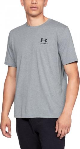 Under Armour Koszulka męska Sportstyle Left Chest SS szara r. XL (1326799036)