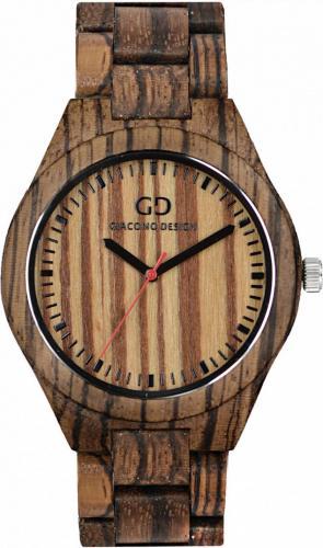 Zegarek Giacomo Design Drewniany męski GD08303