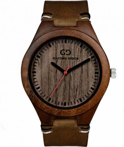 Zegarek Giacomo Design Drewniany męski GD08014