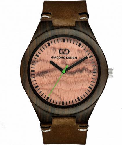 Zegarek Giacomo Design Drewniany męski GD08011