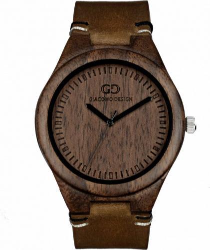 Zegarek Giacomo Design Drewniany  męski GD08012