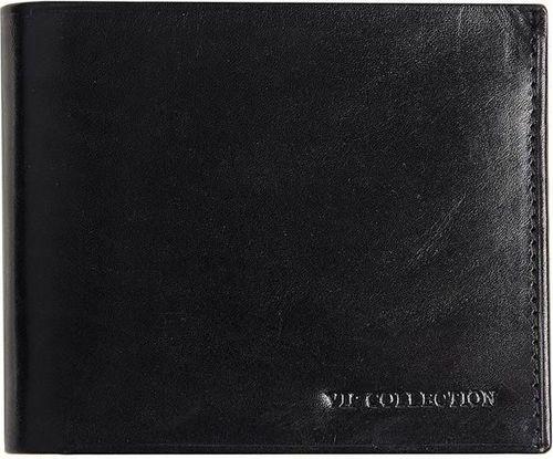 VIP Collection Portfel męski skórzany czarny Vip Collection