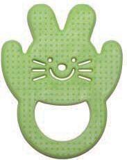 Mamajoo Gryzak Miękki królik Zielony (MMJ2919)