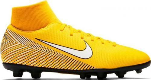 Nike Buty piłkarskie JR Mercurial Superfly 6 Club Neymar MG  żółte r. 34 (AO2888 710)