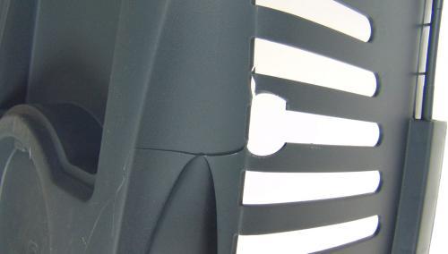 STEFANPLAST Transporter GULLIVER 2 z plastikowymi drzwiczkami jasnoszary/ciemnoszary [outlet]