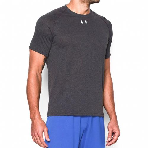 Under Armour Koszulka męska Locker Shortsleeve Tee szara r. L (1268471-090)