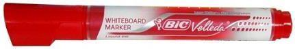 Bic Marker suchościeralny Velleda czerwony p12. BIC