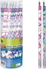 Starpak Ołówek z gumką STK MIX GIRLS p48