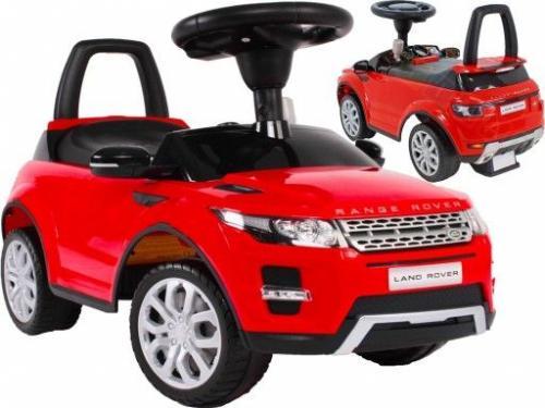 Multistore Jeździk chodzik pchacz Land Rover (348-czerwony)