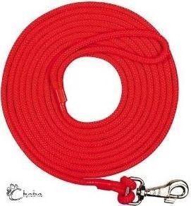 4064d16201bd3e CHABA Smycz treningowa z linki czerwona