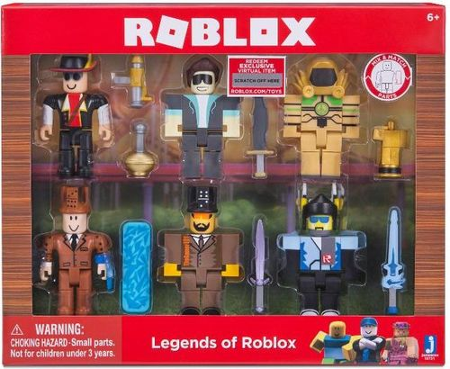Tm Toys Roblox - 6 Figurek Legendy Roblox