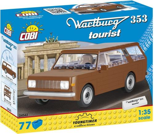 Cobi Klocki Samochód Wartburg 353 Tourist (24543)
