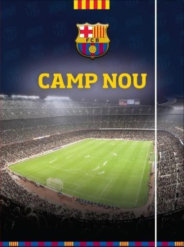 Eurocom Teczka A4 z gumką FC Barcelona