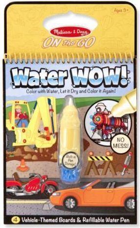 Melissa & Doug Kolorowanka wodna wielorazowa Pojazdy (MD15375)
