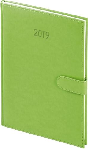 WOKÓŁ NAS Kalendarz 2019 A4 Tygodniowy, Nebraska na magnes, zielony