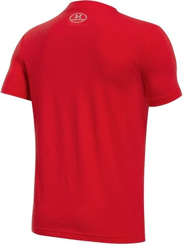 Under Armour Koszulka dziecięca Boys Two Tone Logo SS T czerwona r. S (128-137cm) (1298292 600)