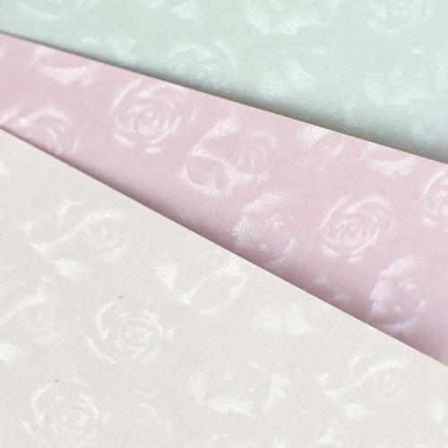 Argo Papier ozdobny (wizytówkowy) małe róże lila