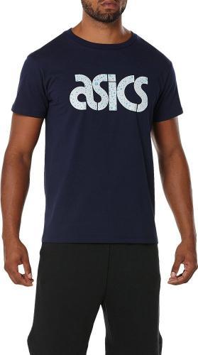 Asics Koszulka męska Graphic 2 Tee granatowa r. L (A16059-5042)