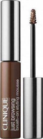 CLINIQUE Żel do brwi Just Browsing Brush-On Styling Mousse 03 Deep Brown 2ml