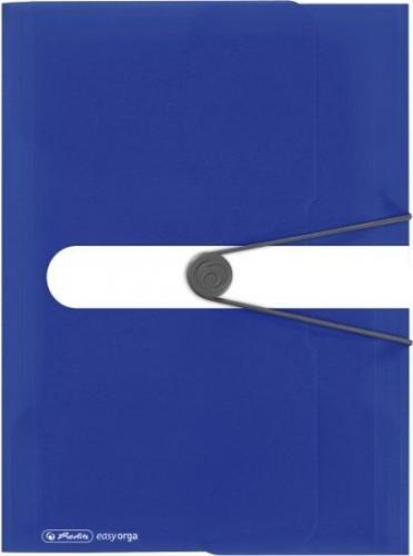 Herlitz Teczka rysunkowe A4 PP z gumką Int. blue