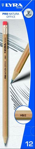 Lyra Ołówek Lyra pro natura hb z gumką 1350100