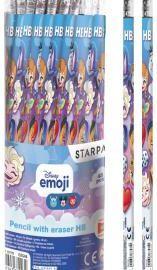 Starpak Ołówek z gumką Emoji