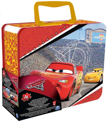 Spin Master Puzzle 3D - Cars 3 w puszce (98424)