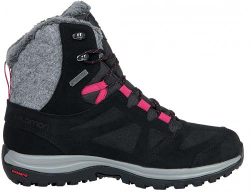 Salomon Buty zimowe damskie Ellipse Winter GTX Black/Phantom/Cerise r. 38 2/3 (404699)