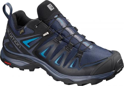 Salomon Buty damskie X Ultra 3 GTX W Medieval Blue/Black/Hawaiian Surf r. 38 (404682)