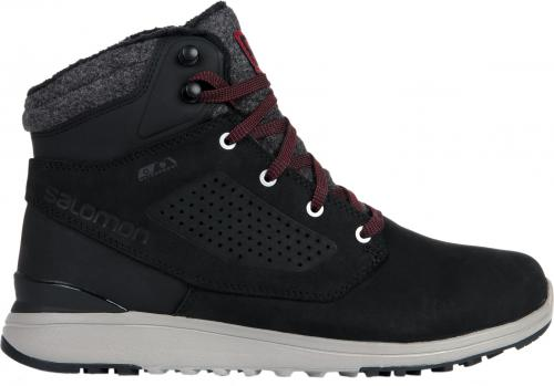 Salomon Buty męskie Utility Winter CS WP Black/Black/Red Dahlia r. 45 1/3 (404725)