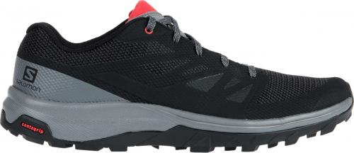 Salomon Buty męskie OUTline Black/Quiet Shad/High Risk r. 44 (404775)