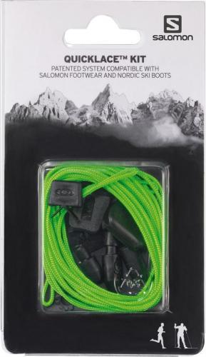 Salomon Wiązanie do butów Quicklace Kit Green (326676)