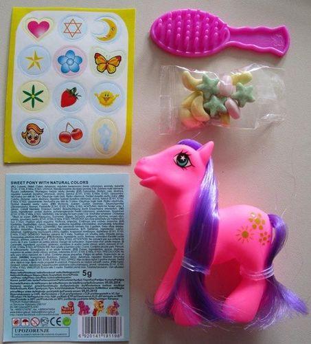 KW OFFICE Zabawka Kucyk Pony w torbie