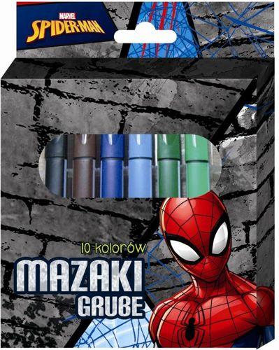 Beniamin Mazaki grube 10 kolorów Spiderman