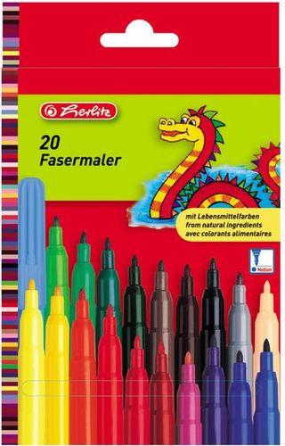 Herlitz Mazaki Herlitz 20 kolorów (283152)