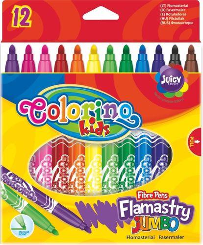 Patio Flamastry Jumbo 12 kolorów (14120)