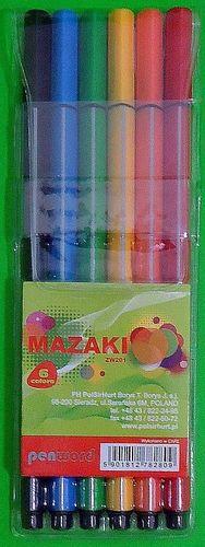 Polsirhurt Mazaki ZW201-16 MIX kolorów trójkątne