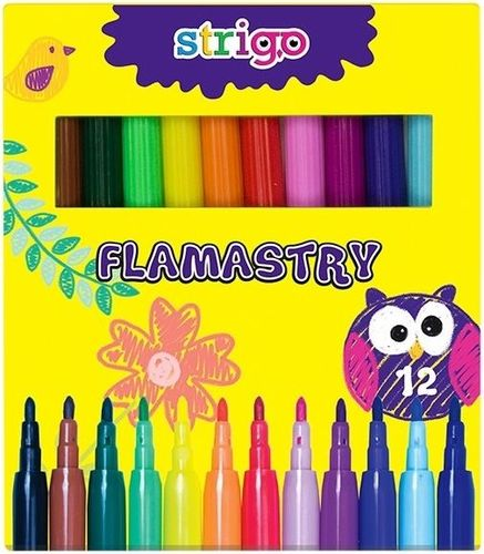 Pukka Pad Zestaw flamastrów 12 kolorów (SSC007)