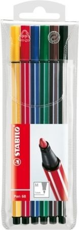 Stabilo Flamaster Pen 6806 6 sztuk w etui