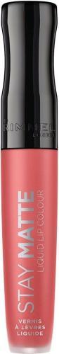 Rimmel  Stay Matte Liquid Lip Colour Nr 600 Coral Sass Matowa pomadka w płynie 5.5 ml