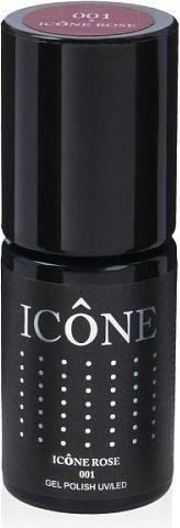 Icone Gel Polish UV/LED lakier hybrydowy 001 Icone Rose 6ml