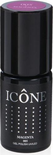 Icone Gel Polish UV/LED lakier hybrydowy 005 Magenta 6ml