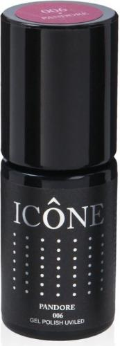 Icone Gel Polish UV/LED lakier hybrydowy 006 Pandore 6ml